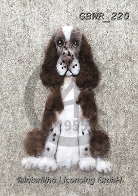 Simon, REALISTIC ANIMALS, REALISTISCHE TIERE, ANIMALES REALISTICOS, innovative, paintings+++++SharonS_SpringerSpaniel,GBWR220,#a#, EVERYDAY dogs,breeds of dog,