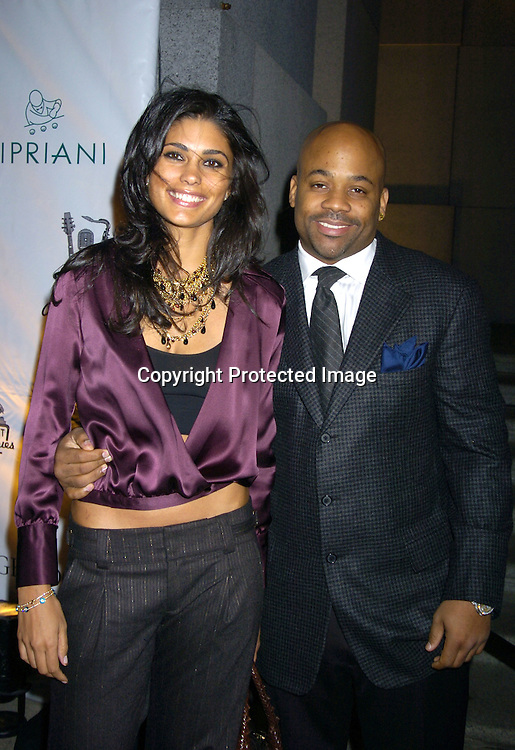 Damon Dash and Rachel Roy ..at The Sheryl Crow Concert at The Cipriani Wall Street Concert on April 26, 2005 at Ciprianis on Wall Street. ..Photo by Robin Platzer, Twin Images