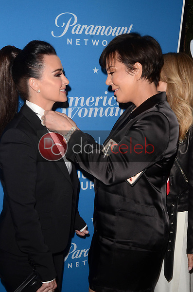 "Kyle Richards, Kris Jenner<br /> at the ""American Woman"" Premiere Party, Chateau Marmont, Los Angeles, CA 05-31-18<br /> David Edwards/DailyCeleb.com 818-249-4998"