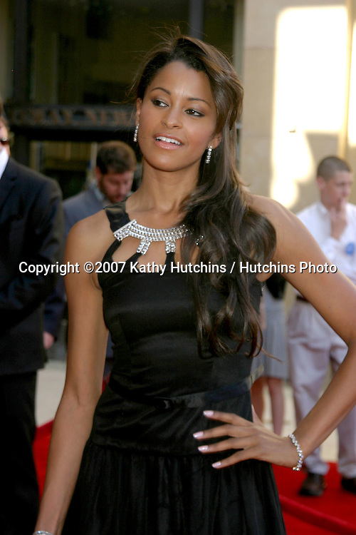 Claudia Jordan.ESPY Awards 2007.Kodak Theater.Los Angeles, CA.July 11, 2007.©2007 Kathy Hutchins / Hutchins Photo....