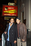 "Dule Hill (All My Children ""Simon"", Psych & West Wing) & Ruben Santiago-Hudson (Another World ""Billy Cooper"", All My Children, Person of Interest, Castle, West Wing) star in Broadway's Stick Fly at the Cort Theatre, New York City, New York on December 17, 2011. (Photo by Sue Coflin/Max Photos)"