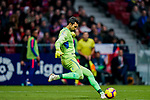 Goalkeeper Diego Lopez of RCD Espanyol in action during the La Liga 2018-19 match between Atletico de Madrid and RCD Espanyol at Wanda Metropolitano on December 22 2018 in Madrid, Spain. Photo by Diego Souto / Power Sport Images
