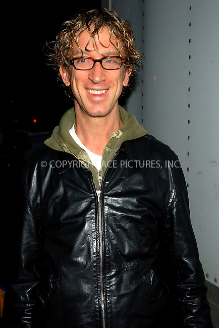 WWW.ACEPIXS.COM . . . . . ....NEW YORK, JANUARY 3, 2004....Andy Dick at The Late Show with David Letterman.....Please byline: ACE006 - ACE PICTURES.. . . . . . ..Ace Pictures, Inc:  ..Alecsey Boldeskul (646) 267-6913 ..Philip Vaughan (646) 769-0430..e-mail: info@acepixs.com..web: http://www.acepixs.com