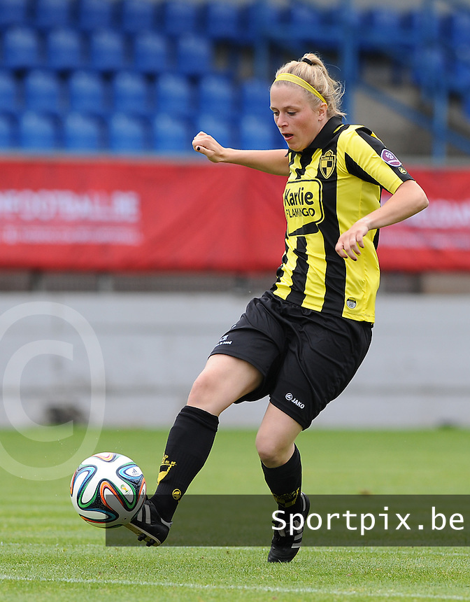 Bekerfinale vrouwen 2015 : Lierse-Club Brugge Vrouwen :<br /> <br /> Caroline Berrens<br /> <br /> foto VDB / BART VANDENBROUCKE