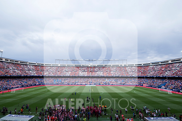 Panoramic view of the Stadium during the last match to be played by Atletico de Madrid at Vicente Calderon Stadium in Madrid, May 28, 2017. Spain.. (ALTERPHOTOS/Rodrigo Jimenez)
