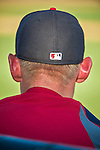 10 March 2014: Washington Nationals pitcher Stephen Strasburg watches action during a Spring Training game against the Houston Astros at Space Coast Stadium in Viera, Florida. The Astros defeated the Nationals 7-4 in Grapefruit League play. Mandatory Credit: Ed Wolfstein Photo *** RAW (NEF) Image File Available ***