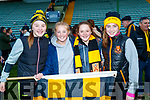 Laura O'Shea, Leah McMahon, Rachel O'Shea and Amy O'Shea Dr Crokes Supporters pictured after the County final at Austin Stack Park on Sunday.