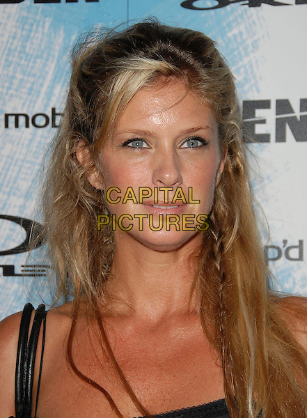 RACHEL HUNTER.The Oakley, Blender Magazine & AMP'D Mobile X Games Kick Off Party held at Element in Hollywood, California, USA..August 2nd 2006.Ref: DVS.headshot portrait braid plait.www.capitalpictures.com.sales@capitalpictures.com.©Debbie VanStory/Capital Pictures