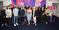 Clare Stewart, Amanda Nevill and filmmakers<br /> at the London Film Festival 2017 launch, Odeon Leicester Square London. <br /> <br /> <br /> ©Ash Knotek  D3302  31/08/2017