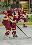 19 February 2016: Boston College Eagle Forward Ryan Fitzgerald, a Junior from North Reading, MA, in first period action against the University of Vermont Catamounts at Gutterson Fieldhouse in Burlington, Vermont. The Eagles defeated the Catamounts 3-1 in the first game of their weekend series. Mandatory Credit: Ed Wolfstein Photo *** RAW (NEF) Image File Available ***