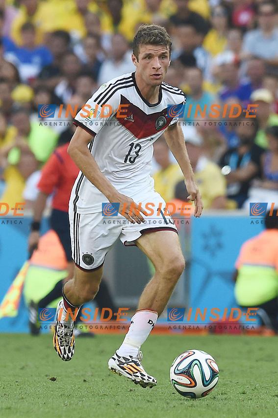 Thomas Mueller Germany <br /> Rio de Janeiro (Brasile) 04-07-2014 Maracana Quarter-Finals / Quarti di finale France - Germany / Francia - Germania. Football 2014 Fifa World Cup Brazil - Campionato del Mondo di Calcio  Brasile 2014 <br /> Foto Insidefoto