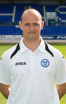 St Johnstone FC Season 2012-13 Photocall.Graham Kirk, Sports Science.Picture by Graeme Hart..Copyright Perthshire Picture Agency.Tel: 01738 623350  Mobile: 07990 594431