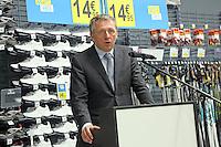 Mannheims Oberbürgermeister Dr. Peter Kurz bei seiner Ansprache