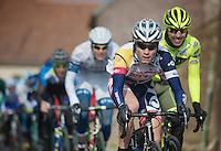 3 Days of De Panne.stage 1: Middelkerke - Zottegem..Tosh Van der Sande (BEL)