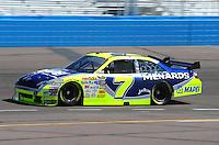 Apr 17, 2009; Avondale, AZ, USA; NASCAR Sprint Cup Series driver Robby Gordon during practice for the Subway Fresh Fit 500 at Phoenix International Raceway. Mandatory Credit: Mark J. Rebilas-