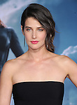 Cobie Smulders attends The Marvel World Premiere of Captain America; The Winter Soldier held at The El Capitan in Hollywood, California on March 13,2014                                                                               © 2014 Hollywood Press Agency