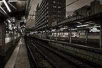 Anamori-inari Station. Tokyo, Japan. 2015