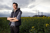 PICTURE BY SHAUN FLANNERY/SWPIX.COM..11th April 2012..Professional track and road cyclist Ben Swift pictured near his home in Rotherham South Yorkshire after his recent victory in the 2012 UCI Track Cycling Championships in Melbourne, Australia.