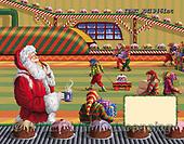 Marcello, CHRISTMAS SANTA, SNOWMAN, WEIHNACHTSMÄNNER, SCHNEEMÄNNER, PAPÁ NOEL, MUÑECOS DE NIEVE, paintings+++++,ITMCXM1946INT,#X#