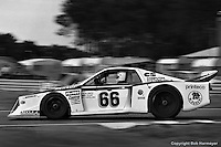 LE MANS, FRANCE: Joe Castellano, Max Cohen-Olivar and Jean-Marie Lemerle drove their Lancia Beta Monte Carlo 1009 to a 2nd place finish in Group 5, and 12th place overall, in the 24 Hours of Le Mans on June 20, 1982, at Circuit de la Sarthe in Le Mans, France.