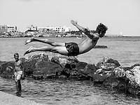 OLYMPUS DIGITAL CAMERA Human Jump