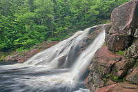 Mary Ann Falls. Cabot Trail. Cape Breton Island. Appalachian Mountain chain.  <br />