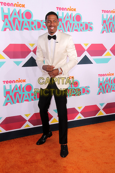 HOLLYWOOD, CA - NOVEMBER 17: Nick Cannon at the TeenNick HALO Awards, Hollywood Palladium on November 17, 2013 in Hollywood, California, USA.<br /> CAP/MPI/JO<br /> &copy;Janice Ogata/MediaPunch/Capital Pictures