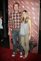 NEW YORK CITY,NY - July 25, 2012: Dax Shepard and Kristen Bell  at the GenArt Screening Series featuring the film, 'Hit & Run' at Tribeca Cinemas in New York City. © RW/MediaPunch Inc. /NortePhoto.com<br /> <br /> **SOLO*VENTA*EN*MEXICO**<br />  **CREDITO*OBLIGATORIO** *No*Venta*A*Terceros*<br /> *No*Sale*So*third* ***No*Se*Permite*Hacer Archivo***No*Sale*So*third*©Imagenes*con derechos*de*autor©todos*reservados*.