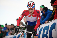 dutch U23 champion David Van Der Poel (NLD)<br /> <br /> Vlaamse Duinencross Koksijde 2013