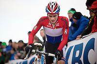 dutch U23 champion David Van Der Poel (NLD)<br /> <br /> Vlaamse Duinencross Koksijde 2013