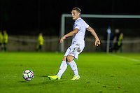 Monday 16 January 2017<br /> Pictured: Connor Roberts Swansea City in action <br /> Re: During the Swansea City U23's match against Newcastle United U23's at the Landore Training facility, Swansea Wales UK