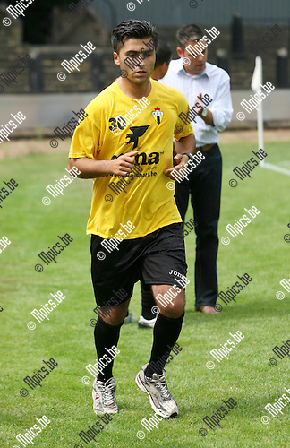 2010-07-25 / Seizoen 2010-2011 / Voetbal / K Berchem Sport / Yuruk Ramazan..Foto: mpics