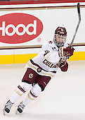 Kali Flanagan (BC - 10) - The Boston College Eagles defeated the visiting UConn Huskies 4-0 on Friday, October 30, 2015, at Kelley Rink in Conte Forum in Chestnut Hill, Massachusetts.