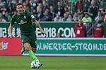 15.04.2018, Weser Stadion, Bremen, GER, 1.FBL, Werder Bremen vs RB Leibzig, im Bild<br /> <br /> <br /> Max Kruse (Werder Bremen #10)<br /> <br /> Foto &copy; nordphoto / Kokenge