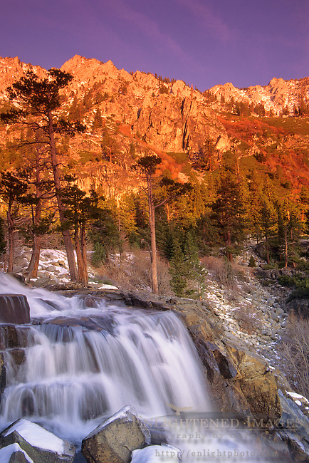 Eagle Falls, above Emerald Bay, Lake Tahoe, California
