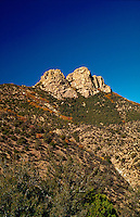 The East side of the Dos Cabezas peaks. Arizona.