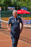 Netherlands, Dordrecht, August 03, 2015, Tennis,  National Junior Championships, NJK, TV Dash 35, Umpire<br /> Photo: Tennisimages/Henk Koster