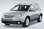 Front three quarter view of a 2008 Subaru Tribeca SUV