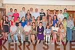 A?ine Culloty from Castisland seated fourth from left celebrated her 21st birthday with family and friends in The Crown Hotel and Bar Castisland on Saturday night..   Copyright Kerry's Eye 2008