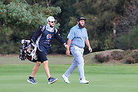 Andrew Johnston (ENG) on the 2nd during Round 3 of the Sky Sports British Masters at Walton Heath Golf Club in Tadworth, Surrey, England on Saturday 13th Oct 2018.<br /> Picture:  Thos Caffrey | Golffile