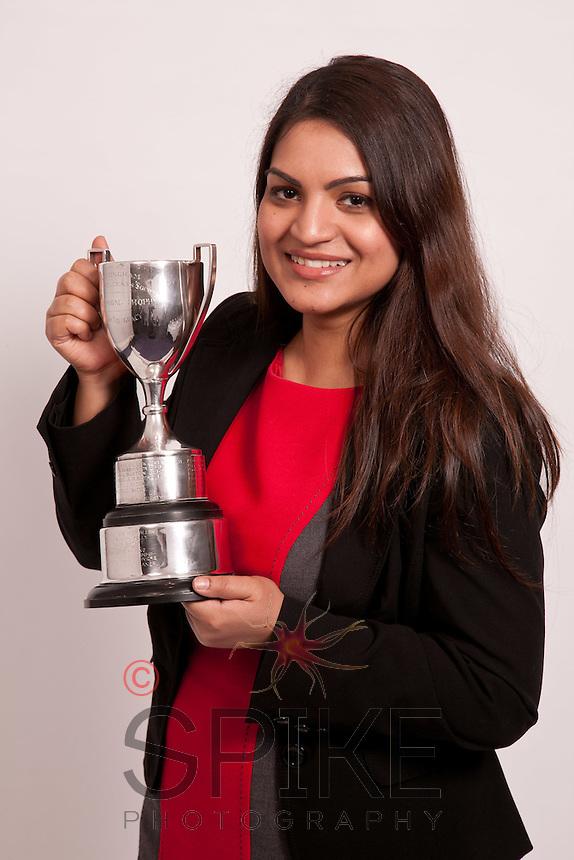 The Hammond Trophy was won by Manda Banerji, of Nelsons