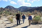 hikers at the Living Desert in Palm Desert
