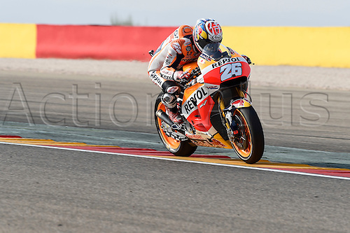 23.09.2016. Motorland Aragon, Alcaniz, Spain. MotoGP Grand Prix of Aragon, free Practice. Dani Pedrosa (Repsol Honda) during the free practice sessions.