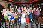 CELEBRATION: Born to Run members enjoying their fancy dress celebration at the Abbey Inn, Tralee, on Saturday.