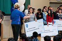 The Harker School - US - Upper School - Intel STS Awards Assembly...2012-01-11..Photo by Kyle Cavallaro