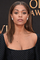 Antonia Thomas<br /> arriving for the Olivier Awards 2019 at the Royal Albert Hall, London<br /> <br /> ©Ash Knotek  D3492  07/04/2019