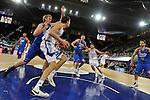 MADRID, Spain (22/01/11). Liga ACB de baloncesto, jornada 18, Real Madrid vs Asefa Estudiantes. Caja Magica...Ante Tomic...©Raul Perez .