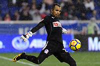 Harrison, NJ - Thursday March 01, 2018: Donis Escober. The New York Red Bulls defeated C.D. Olimpia 2-0 (3-1 on aggregate) during a 2018 CONCACAF Champions League Round of 16 match at Red Bull Arena.