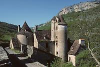 Europe/France/Midi-Pyrénées/46/Lot/Autoire: Château de Lémargue à Autoire (XV ème siècle)