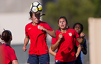 Carson, CA -  Thursday May 17, 2018: U.S. Women's National teams  U-20 vs U-23 during a scrimmage game at StubHub Center.